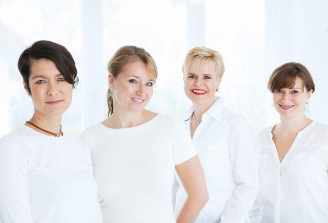 Gruppenbild der Ärztinnen